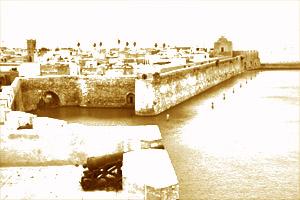 Cityscape of El Jadidam Morocco