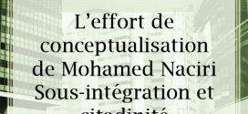 L'effort de conceptualisation de Mohamed Naciri Sous-intégration et citadinité