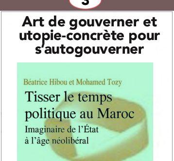 Art de gouverner et utopie-concrète pour s'autogouverner
